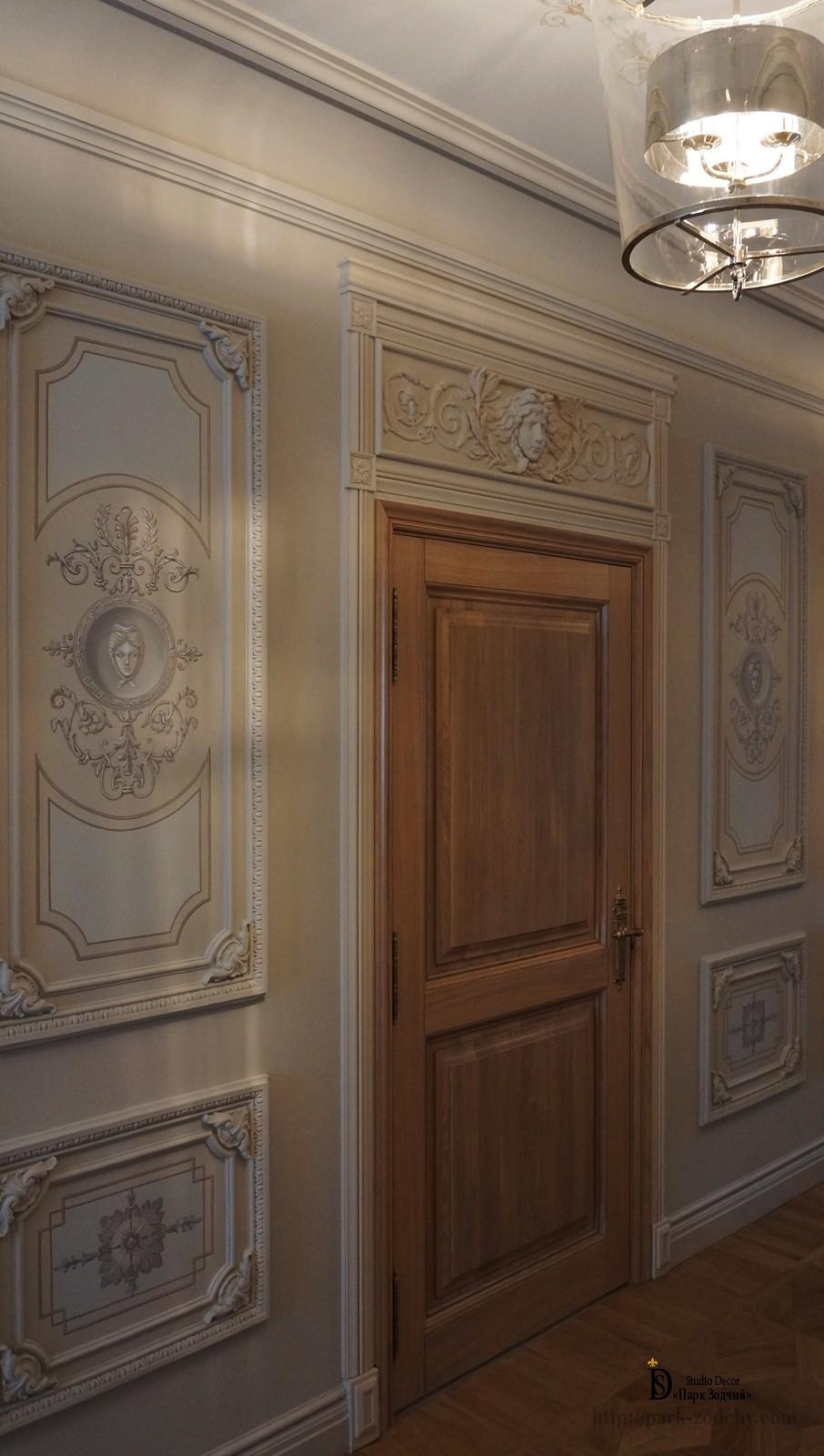 Орнаменты и узоры из лепнины