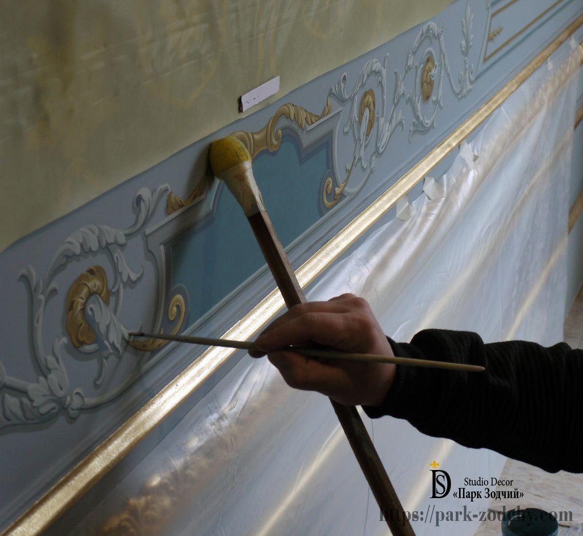 Заказать роспись стен в квартире