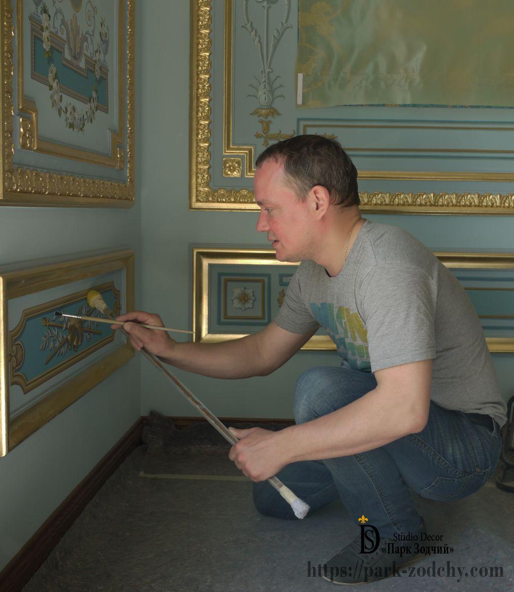 Роспись в квартире — сделайте пространство по-настоящему личным