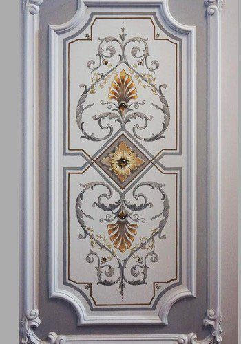 Ornamental Grisaille Paintings