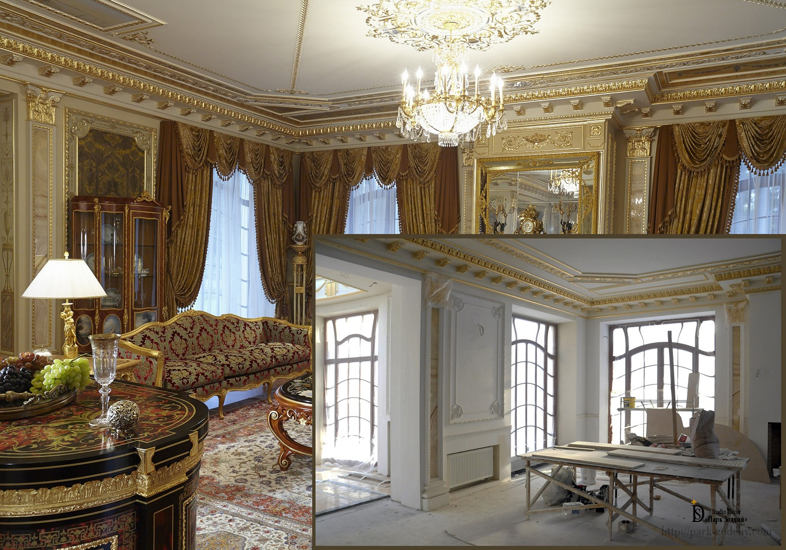 Elite interior design studio decor park zodchy for Elite interior designs