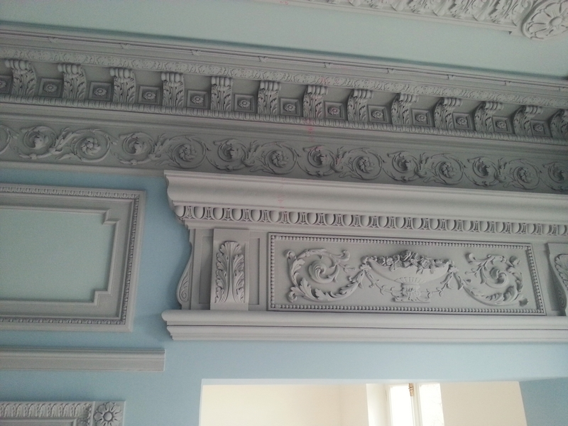 Stucco decor for walls