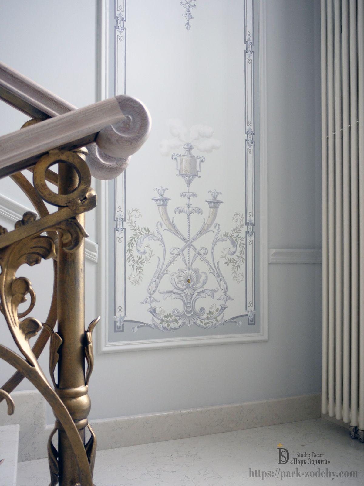 Декоративная роспись стен