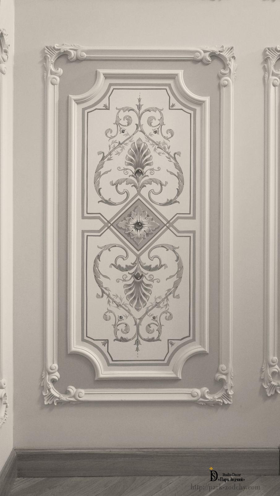 Роспись стен — Гризайль