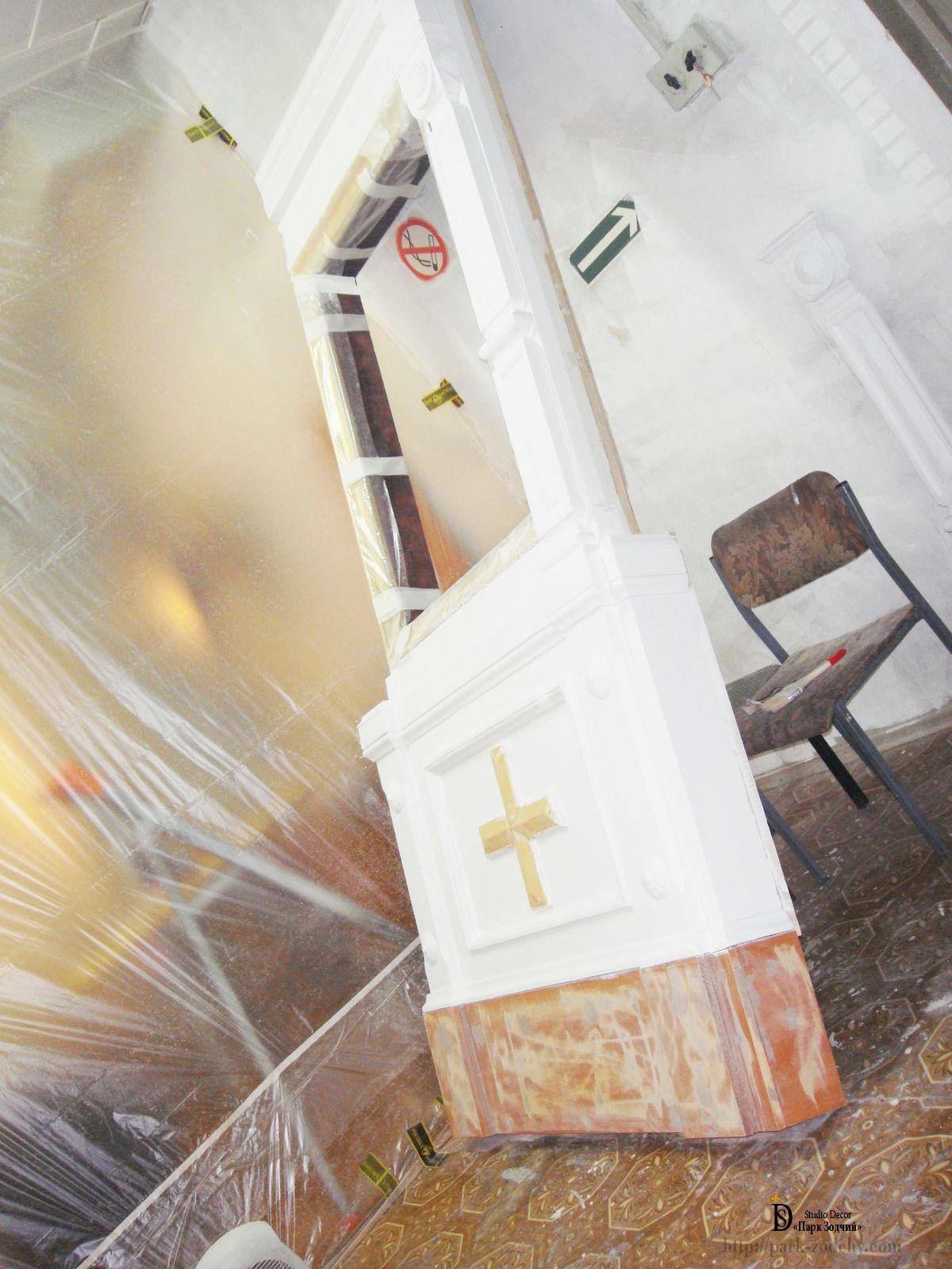 Реставрация позолоты — новая счастливая жизнь благородного декора
