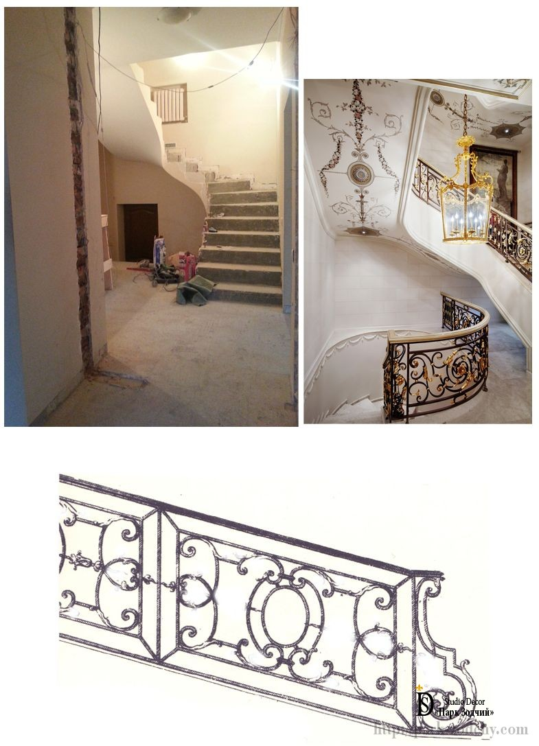 Project decor classic stairs