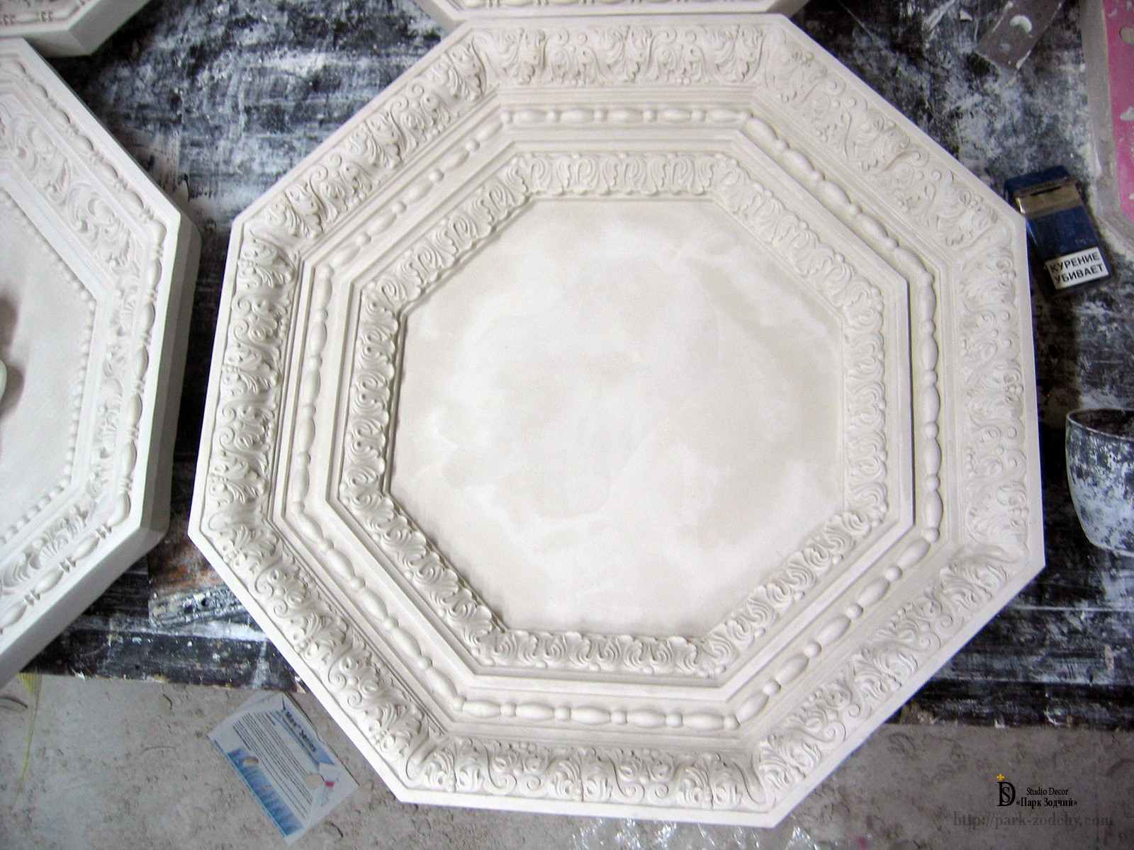 моделирование кессонного потолка