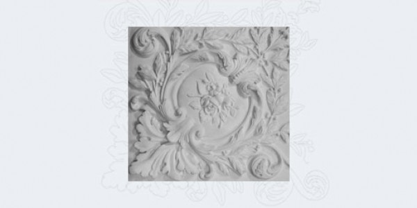 Angles of plaster moldings
